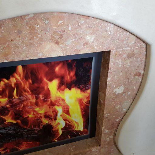 Облицовка за права стена 910 Пламък